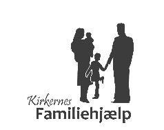 Kirkernes familiehjlp logo